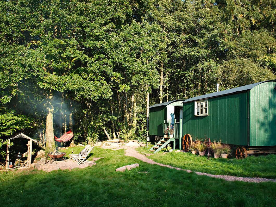 Anne's Shepherds Hut Monmouthshire Wales Fabulous Holiday Cottages 10
