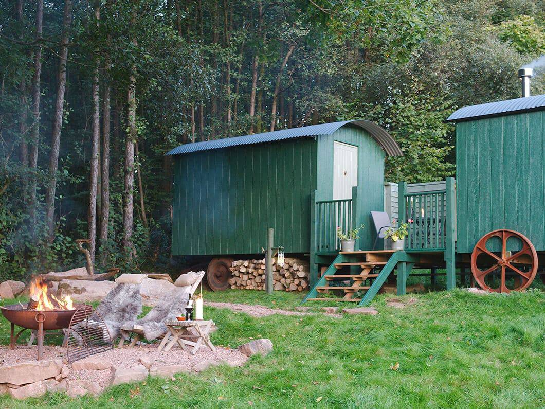 Anne's Shepherds Hut Monmouthshire Wales Fabulous Holiday Cottages 11