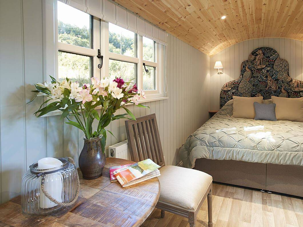 Anne's Shepherds Hut Monmouthshire Wales Fabulous Holiday Cottages 2