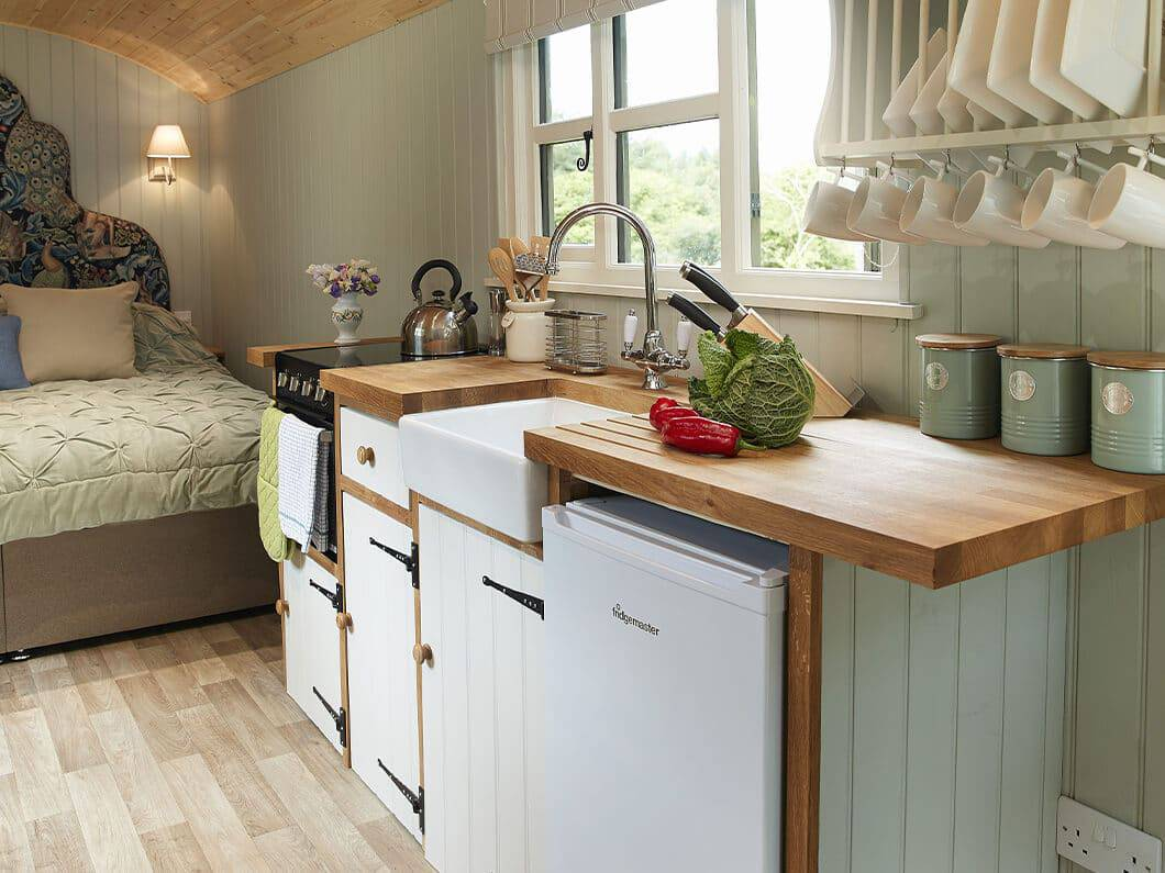Anne's Shepherds Hut Monmouthshire Wales Fabulous Holiday Cottages 3