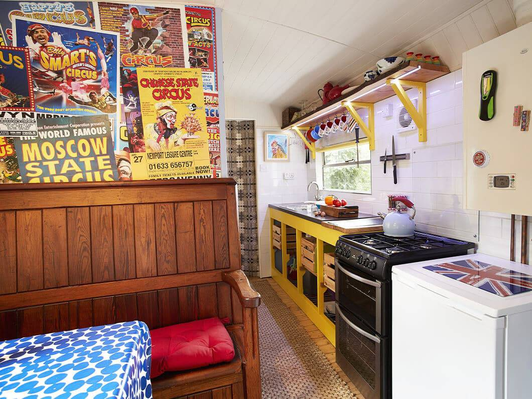 Showman's Wagon Snowdonia Wales Fabuloous Holiday Cottages 3