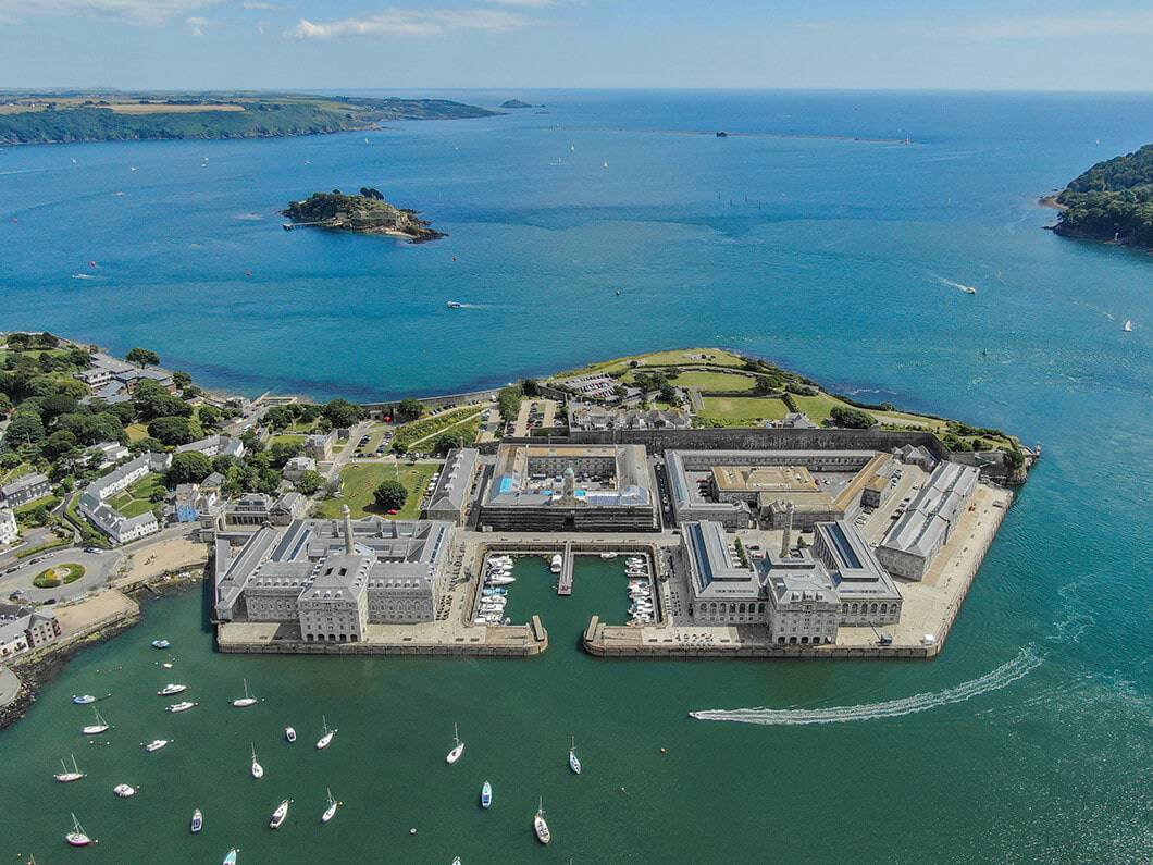 Royal William Yard Plymouth SOuth Devon Fabulous Holiday Cottages 2