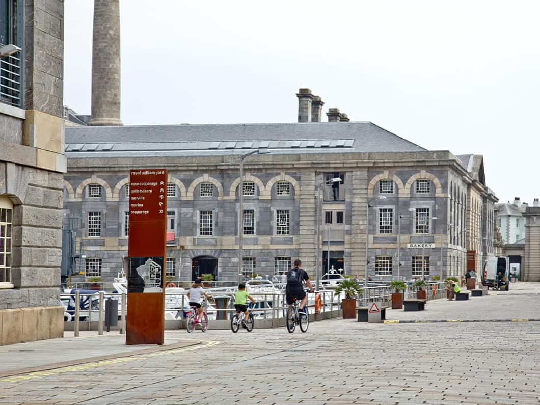 Royal William Yard Plymouth SOuth Devon Fabulous Holiday Cottages 22