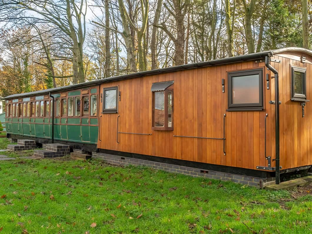 The Railway Carriage Rural Norfolk Fabulous Holiday Cottages 1