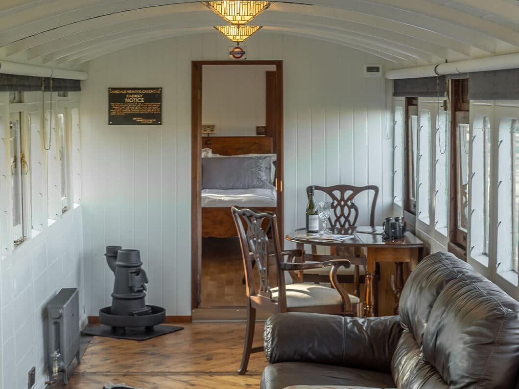 The Railway Carriage Rural Norfolk Fabulous Holiday Cottages 11
