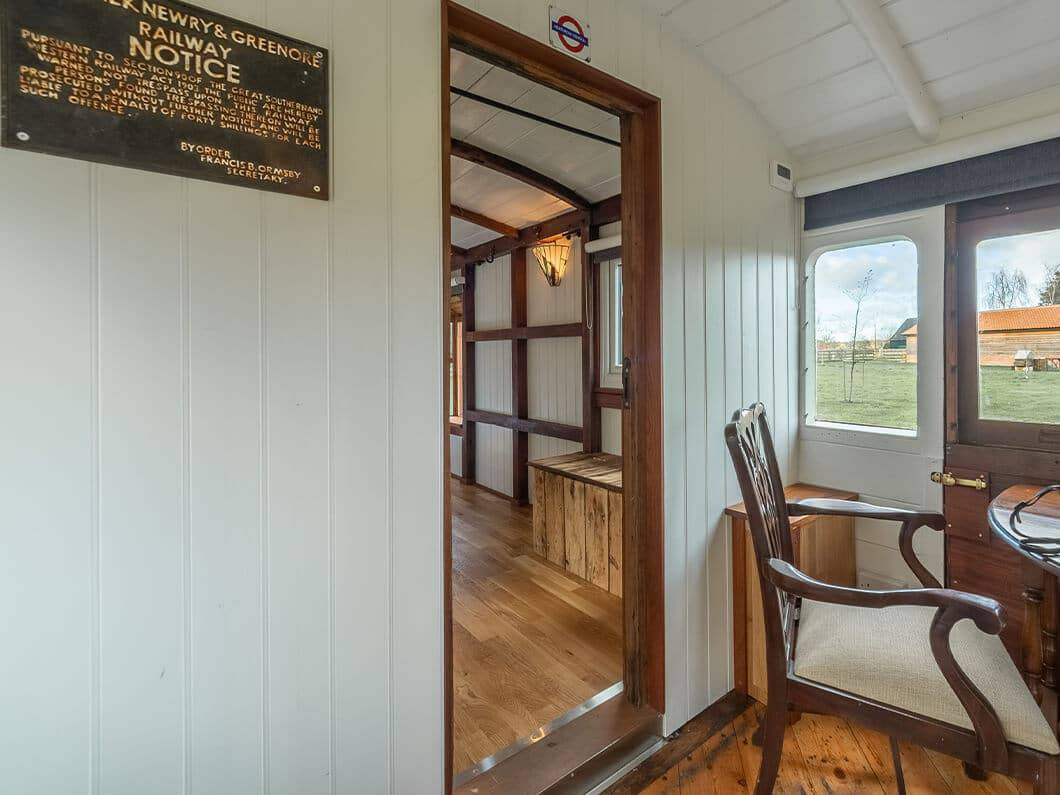 The Railway Carriage Rural Norfolk Fabulous Holiday Cottages 15