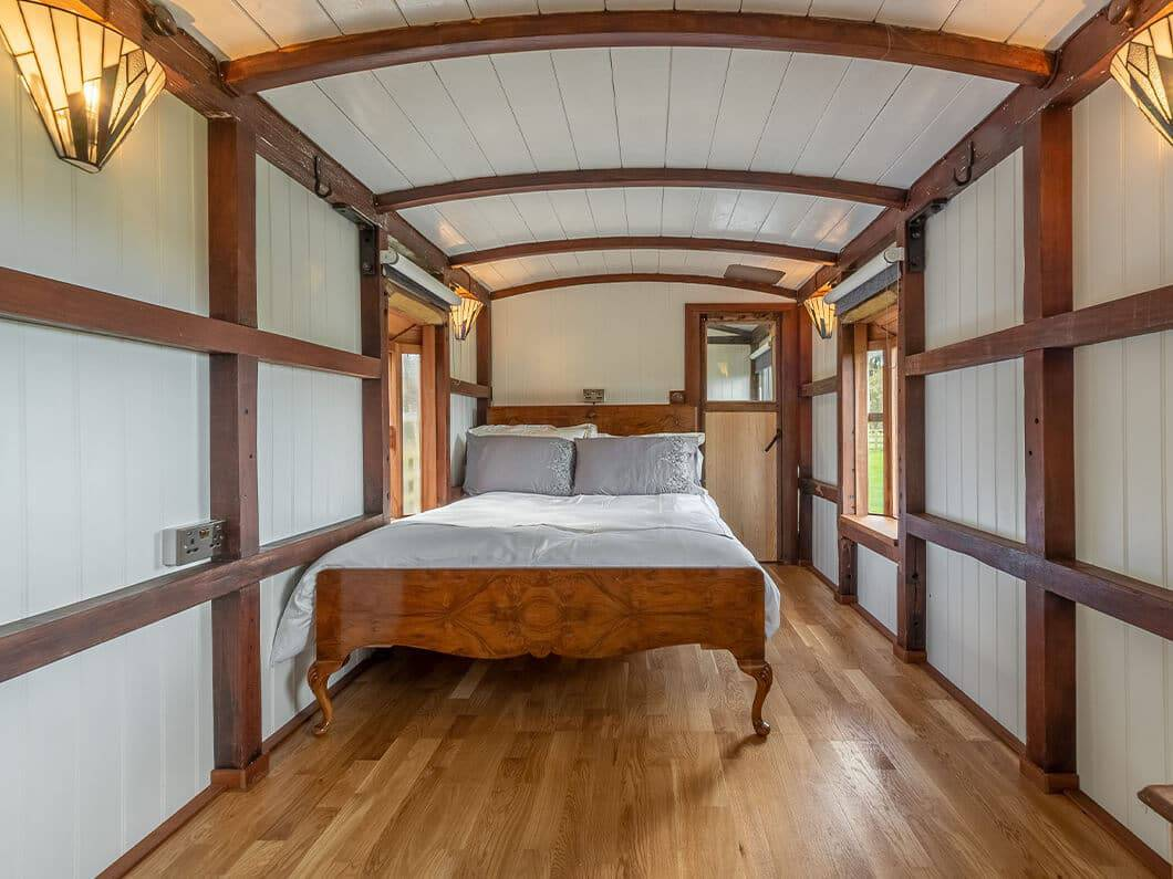 The Railway Carriage Rural Norfolk Fabulous Holiday Cottages 18