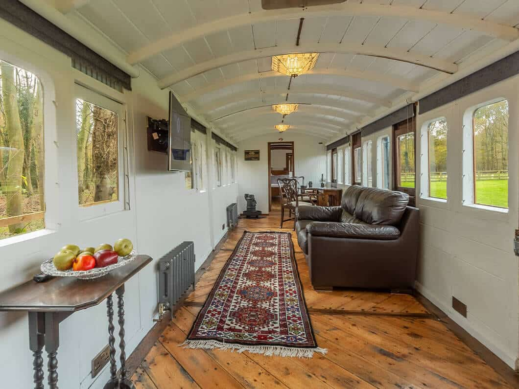 The Railway Carriage Rural Norfolk Fabulous Holiday Cottages 1aa