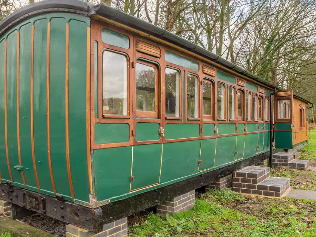 The Railway Carriage Rural Norfolk Fabulous Holiday Cottages 23