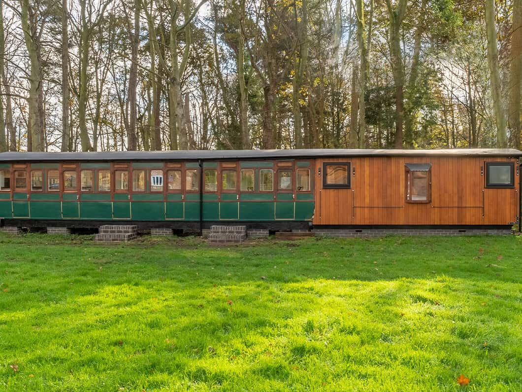The Railway Carriage Rural Norfolk Fabulous Holiday Cottages 25
