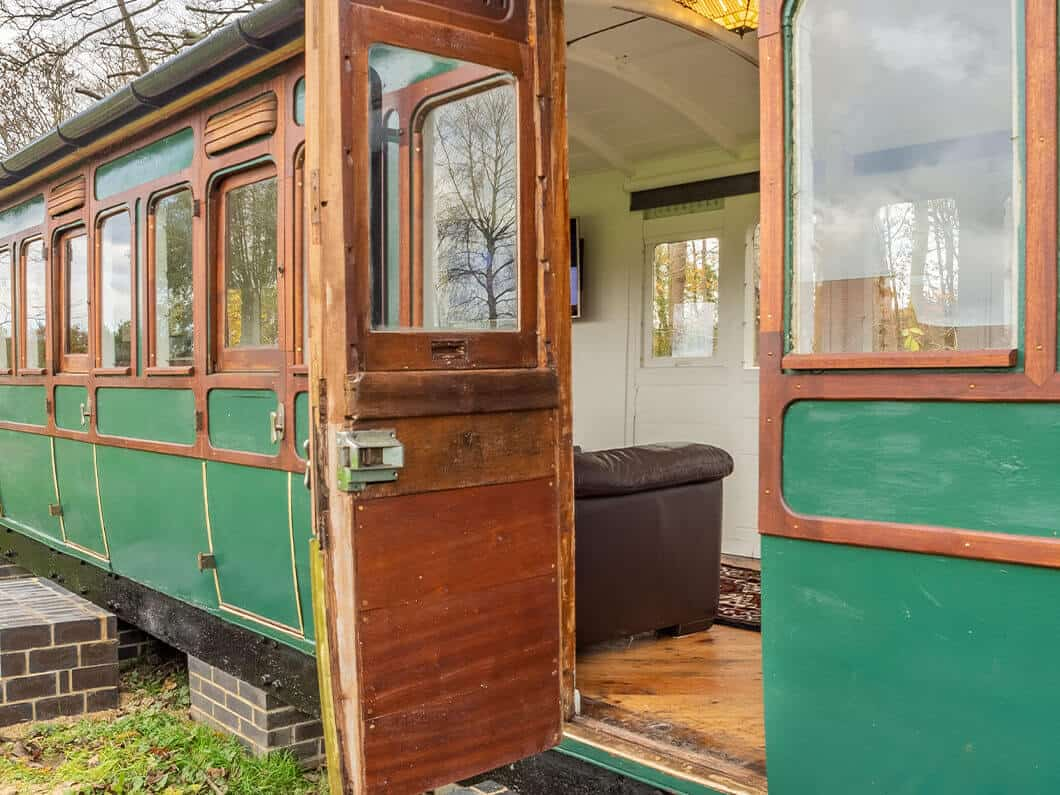 The Railway Carriage Rural Norfolk Fabulous Holiday Cottages 2a