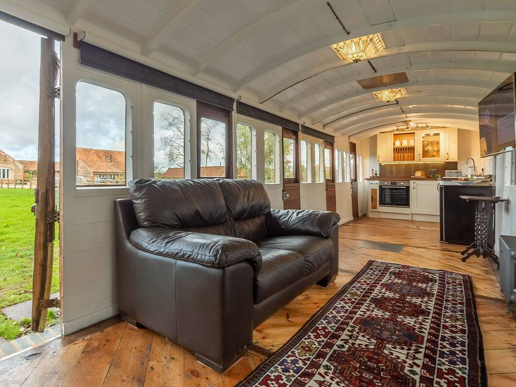 The Railway Carriage Rural Norfolk Fabulous Holiday Cottages 4