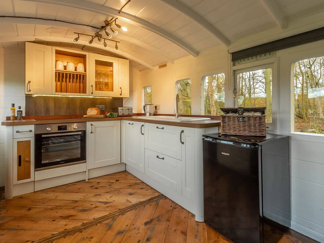 The Railway Carriage Rural Norfolk Fabulous Holiday Cottages 5