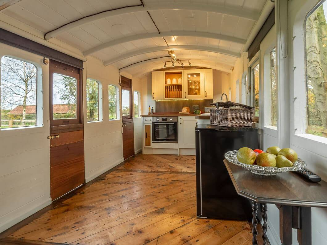 The Railway Carriage Rural Norfolk Fabulous Holiday Cottages 6