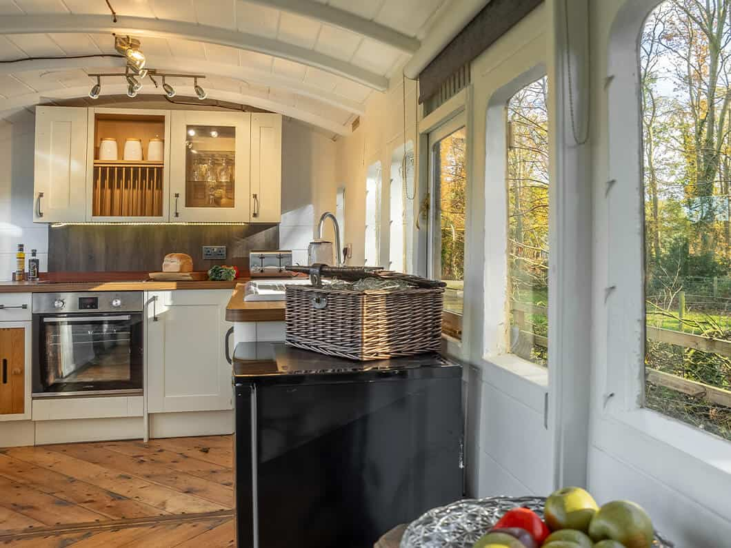 The Railway Carriage Rural Norfolk Fabulous Holiday Cottages 9